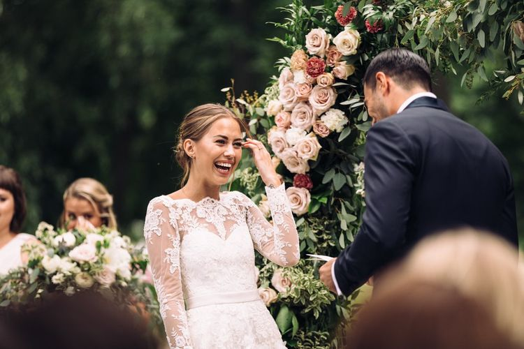 Lace Wedding Dresses Add A Touch Of Femininity To Your Day Look